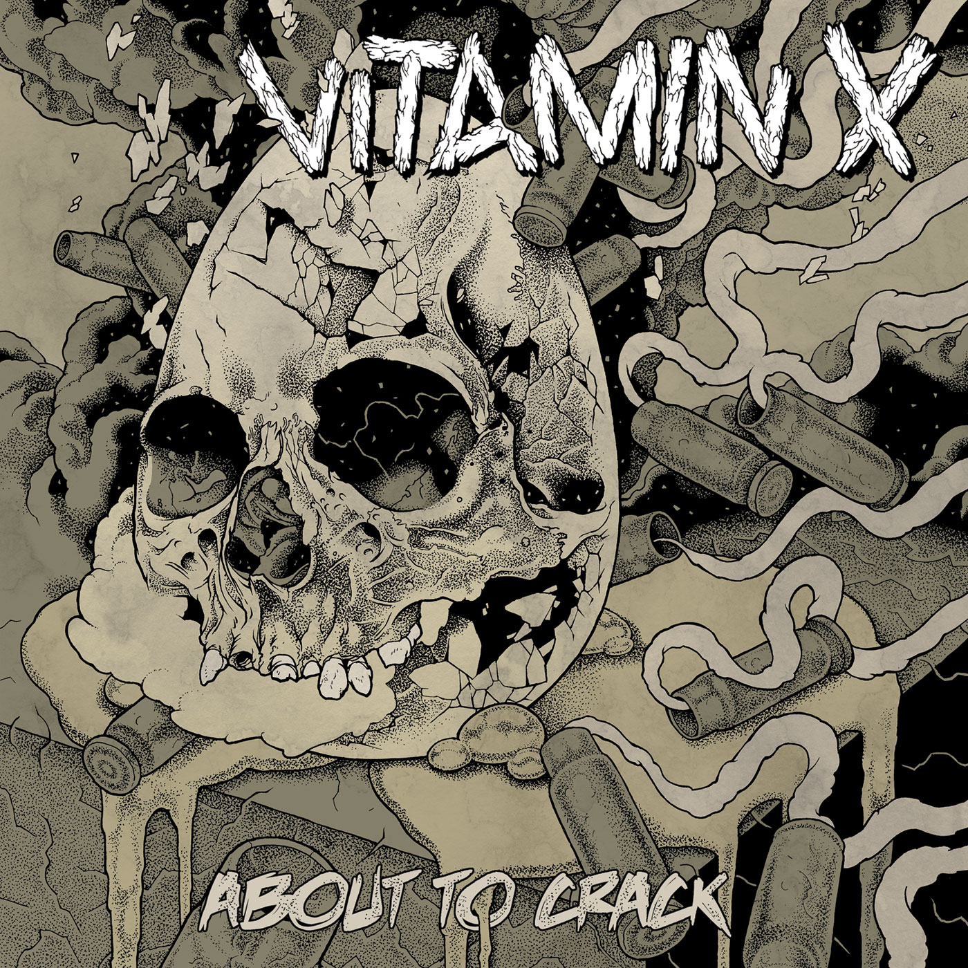 Vitamin X – About To Crack LP